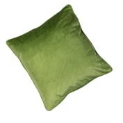Velvaluxe Velvet Cushion Cover, Sage, 45 x 45 Cm