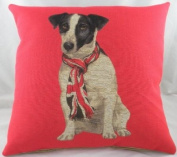 Union Jack Russell Cushion