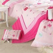 Secret Garden Filled Cushion, Pink
