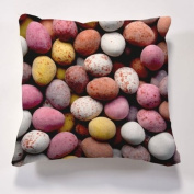 Scatter Cushions, Iconic Mini Egg Cushion & insert, Beautiful printed Designer cushion 43cm x 43cm The perfect gift