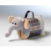 Microwaveable Warmer Animal Cushions Soft Bed Toy - Elephant