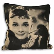 Audrey Hepburn Movie Star Cushion Cover