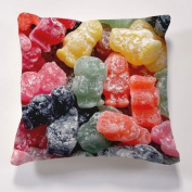 Scatter Cushions, Iconic Jelly Baby Cushion & insert, Beautiful printed Designer cushion 43cm x 43cm The perfect gift