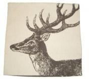 David Fussenegger Cushion Cover Nova Stag 60 x 60 cm 8631/60