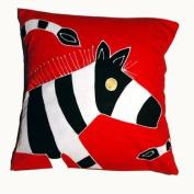 Small Zebra Cushion Cover