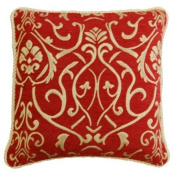46cm Florence burgundy Cushion Cover