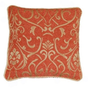 60cm Florence Terracotta cushion cover