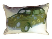 Carnaby Green Herbie Cushion Cover 35 x 50