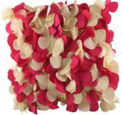 Evans Lichfield Confetti Polyester Fibre Filled Taffeta Cushion, 43cm x 43cm , Cerise