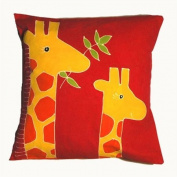 Small Giraffe Cushion Cover