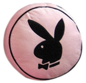 Zap Playboy Round Cushion, Pink