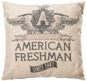 "American Freshman ""Seattle"" Bedding - Beige Stone ""American Freshman"" Scatter Cushion"
