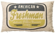 American Freshman Lime Track & Field Filled cushion