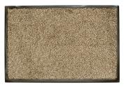 William Armes Dandy Washamat Doormat, 80 x 50 cm, Beige