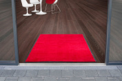 Joy Series Use & Wash Floor Mat - Red - 60x90cm - 5 sizes available