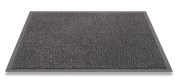 F & S Mars robust washable doormat 135 x 200 cm, anthracite. Manufactured in Western Europe.