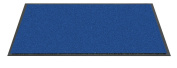 F & S Twist high quality robust doormat machine washable at 30 degrees, Colour blue. 60 x 180 cm. Good for home or office. Manufactured in Western Europe.