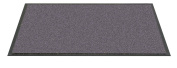 F & S Twist high quality robust doormat machine washable at 30 degrees, Colour grey. 60 x 180 cm. Good for home or office. Manufactured in Western Europe.
