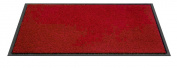 F & S Twist high quality robust doormat machine washable at 30 degrees, Colour red. 60 x 180 cm. Good for home or office. Manufactured in Western Europe.