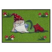 SLD0112-050x075 Doormat / Door mat - Gnomes ca. 50cm x 70cm