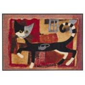 SLD0156-050x075 Doormat / Door mat - Ivano With Mouse ca. 50cm x 70cm