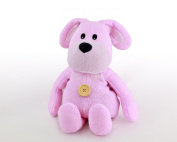 Microwaveable Warmer Knitted Beany Belly Purple Bunny