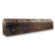 Prana Incense Box / Wooden Cone & Stick Burner / Carved Wood Incense Holder