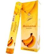Flute Hexa Incense Sticks - Banana