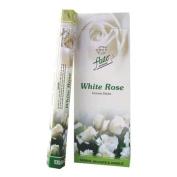 Flute Hexa Incense Sticks - White Rose