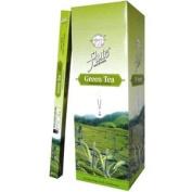 Flute Hexa Incense Sticks - Green Tea