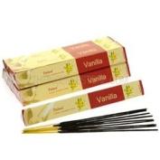 Tulasi Incense Sticks (Vanilla) - 15 Stick Tri Pack