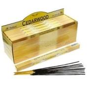 Tulasi Incense Sticks (Cedarwood) - 8 Stick Square Pack