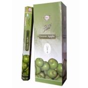 Flute Hexa Incense Sticks - Green Apple