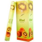 Flute Hexa Incense Sticks - Kiwi