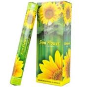 Flute Hexa Incense Sticks - Sunflower