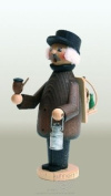 German Incense Smoker Forest Worker 18cm