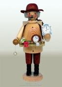 German Incense Smoker Watch Seller Natural, 20cm