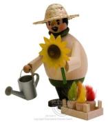 German Incense Smoker, Gardener, 15cm
