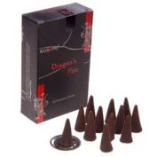 Stamford Black Incense Cones - Dragons Fire 37180