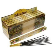 Tulasi Incense Sticks (Musk) - 8 Stick Square Pack