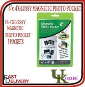 151, Magnetic Photo Pocket, 15cm x 10cm , Fridge Magnets