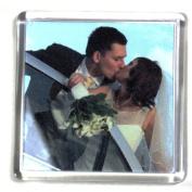 10 Square Blank Photo Fridge Magnet 57 x 57 mm Insert 99809