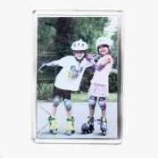 10 Jumbo Blank Photo Fridge Magnet 89 x 59 mm Insert E1317
