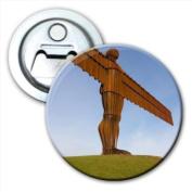 Angel Of The North Tyne & Wear Bottle Opener Fridge Magnet