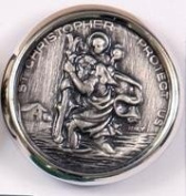 St Christopher Magnet. Saint Christopher Car Magnet