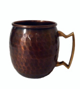 MG Décor 470ml Solid Hammered Copper Moscow Mule Mug