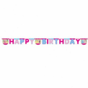 Amscan Disney Princess Summer/ Palace Happy Birthday Letter Banner