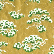 Caspari Entertaining with Caspari 2.4m Long Snowy Pine Continuous Wrapping Paper Roll,