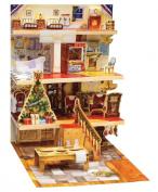 Caspari Entertaining with Caspari Christmas Advent Calendar and Story Book, Night Before Christmas