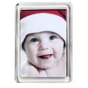 10 Large Blank Photo Fridge Magnet 50 x 35 mm Insert F1443